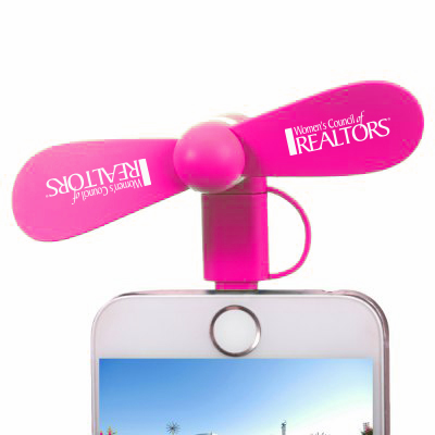 Portable Smart Fan for Smartphone