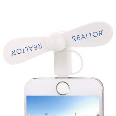 Portable Smart Fan for Smartphones