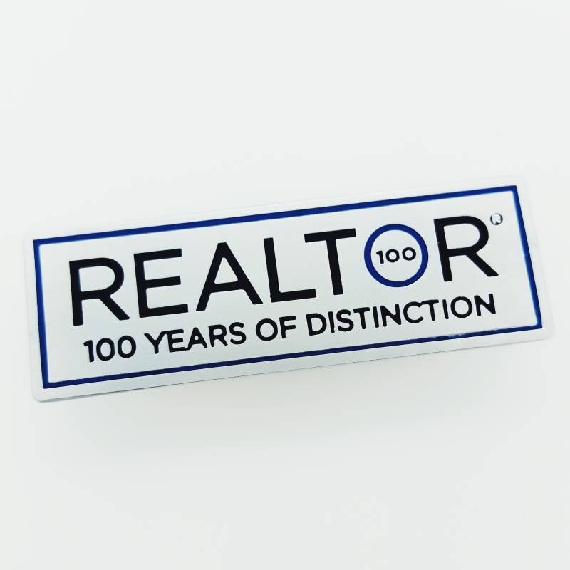 100 Years of Distinction Lapel Pin - RTS4429