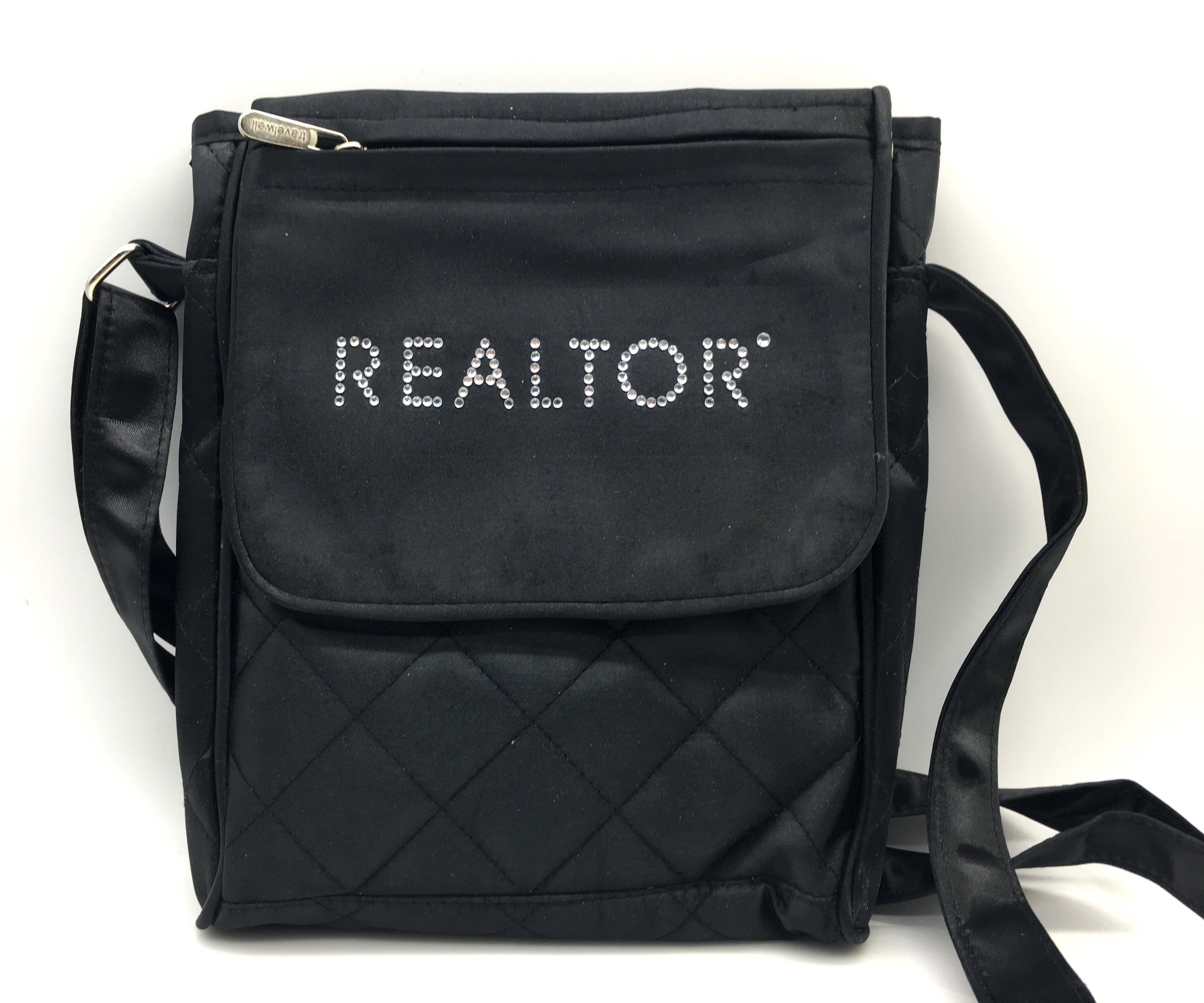 Rhinestone Crossbody Quilted Bag
