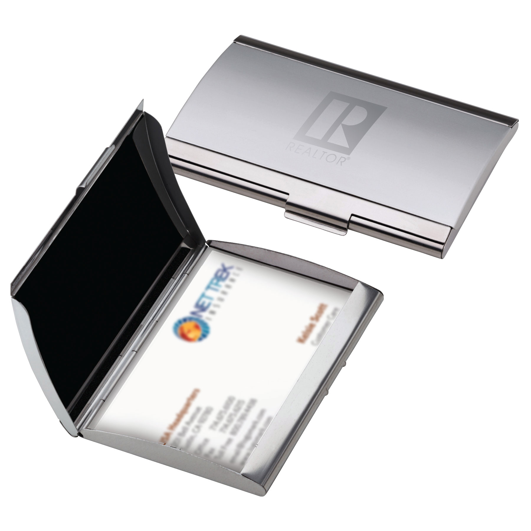 REALTOR® Curved Business Card Case (RTS4569)
