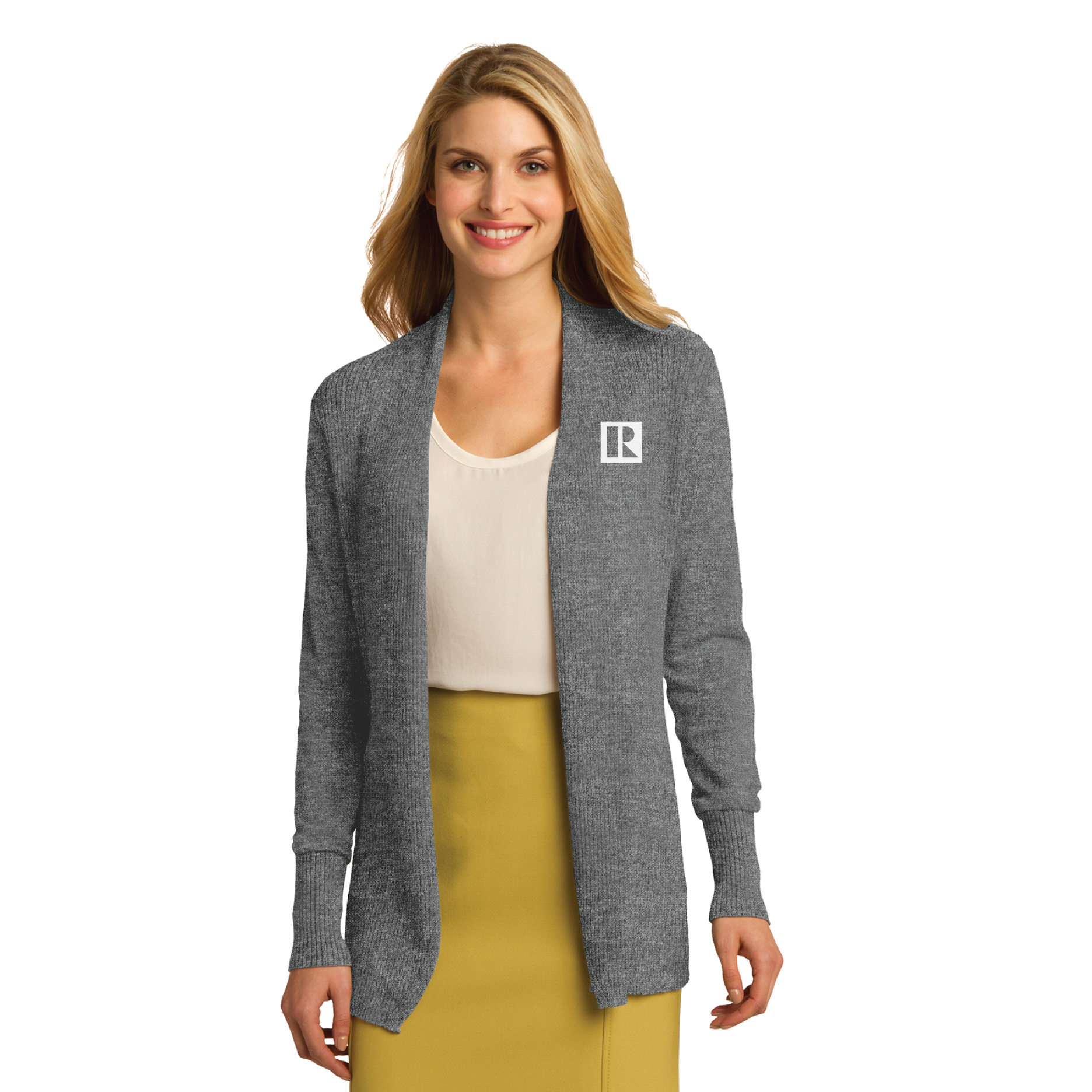REALTOR® Ladies Open Front Cardigan Sweater (RCL4080)