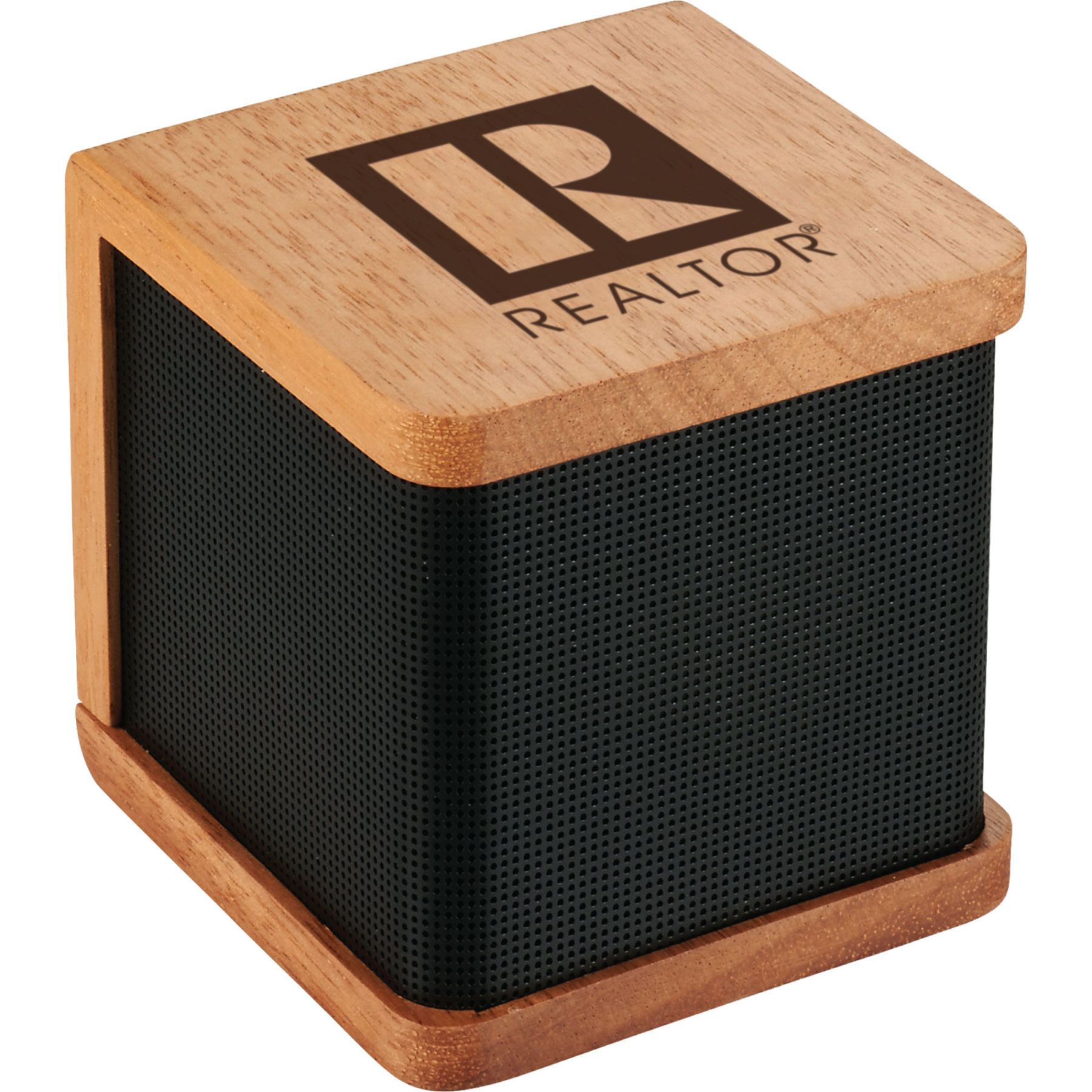REALTOR-logo Wooden Bluetooth Speaker Speakers,Bluetooths,Radio,MP3,Songs,