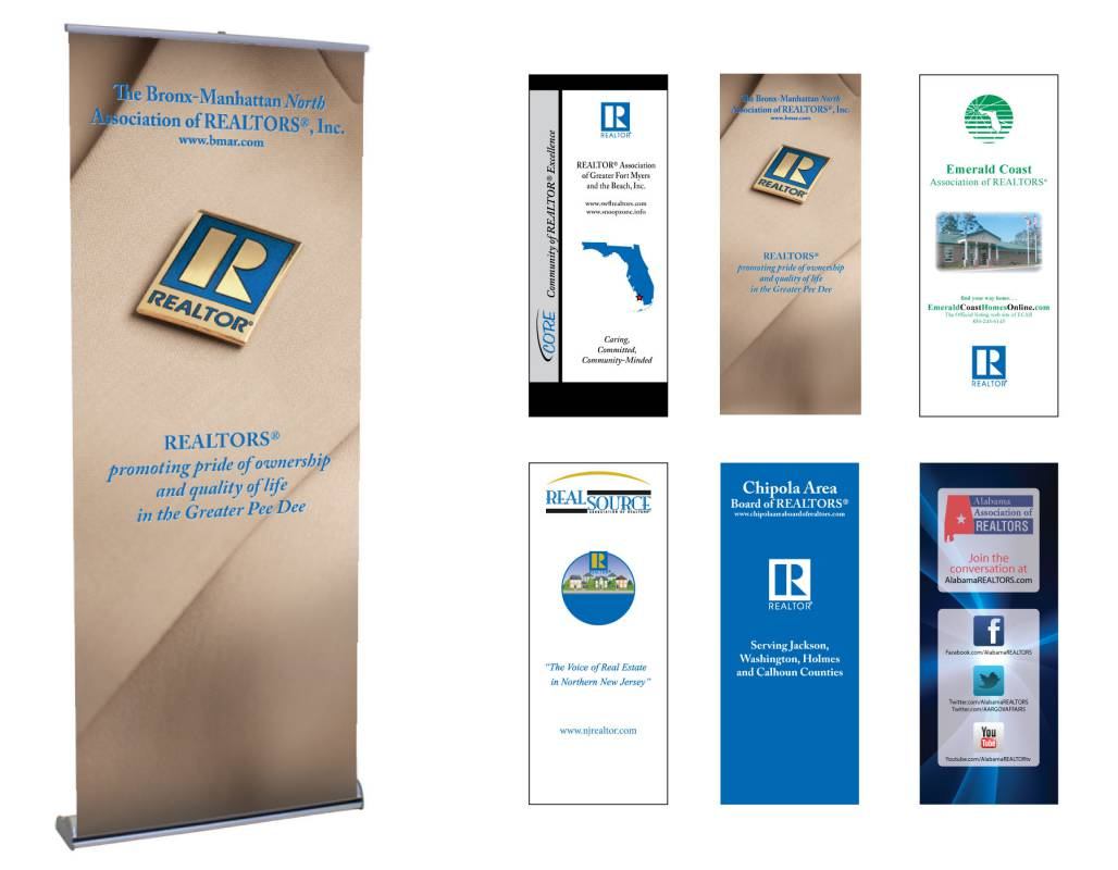 Retractable Banner Vinyl Insert Only - Update Your Retractable Banner!