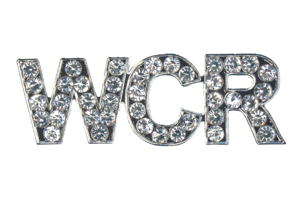"Silver ""Bling"" Pin - Magnetic - WCR3036"