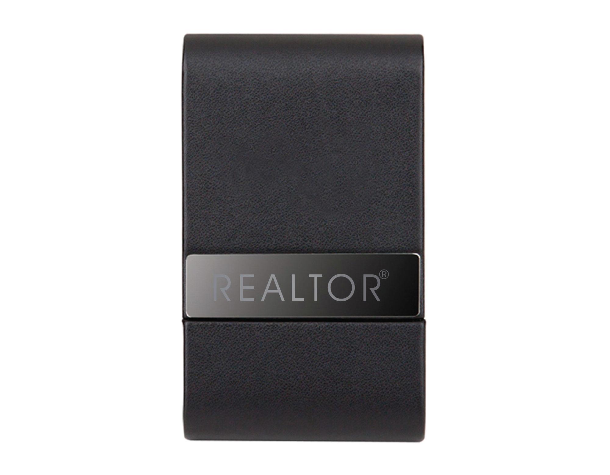 REALTOR® Sleek Business Card Case - Discontinued LJ 12/20/16 (RTS4593)