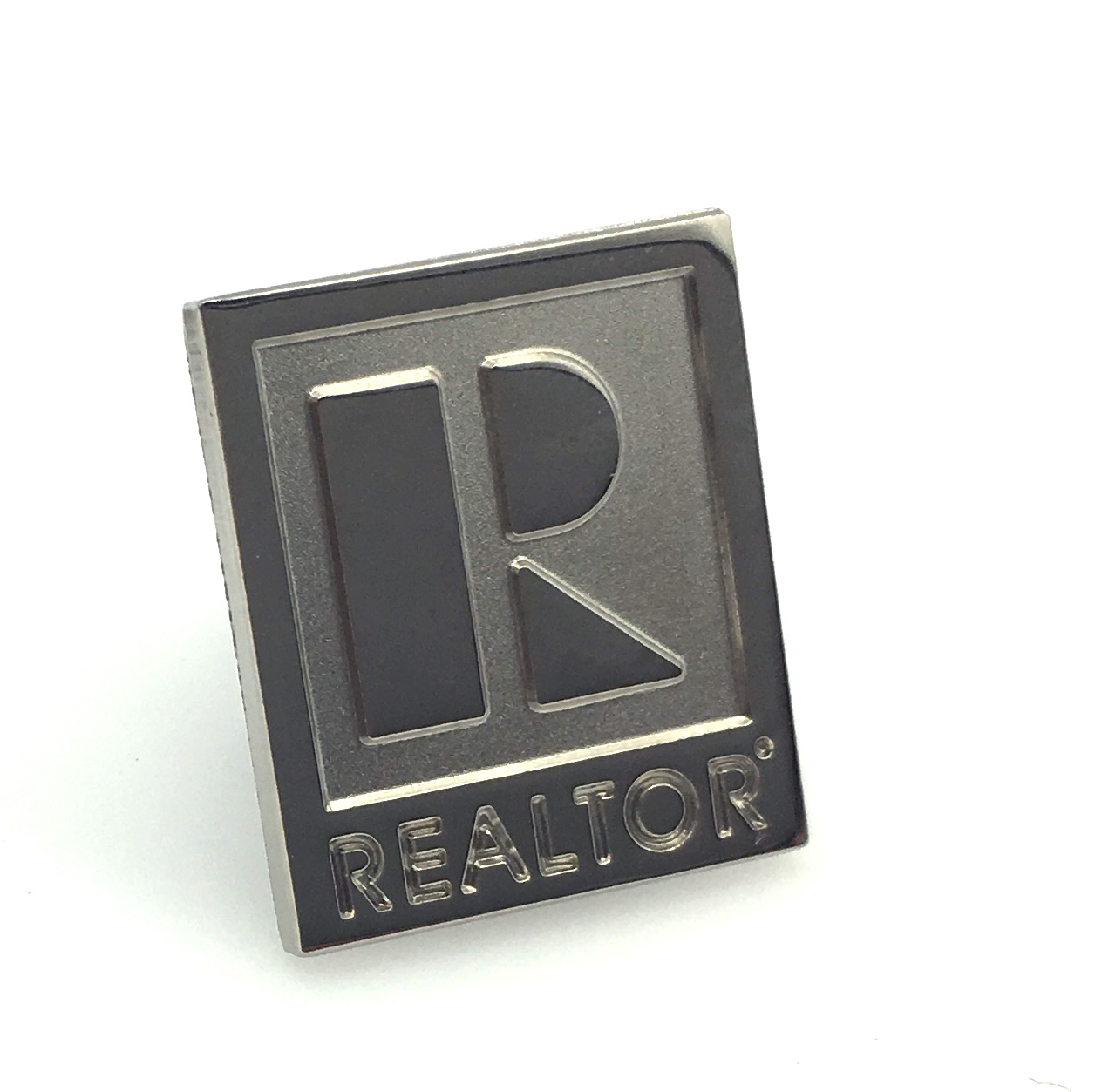 Sterling Silver REALTOR Lapel Pin pins, lapels, stick pins, sticks, real, genuine, diamonds, accents, realtors, special,Sterlings,Silvers