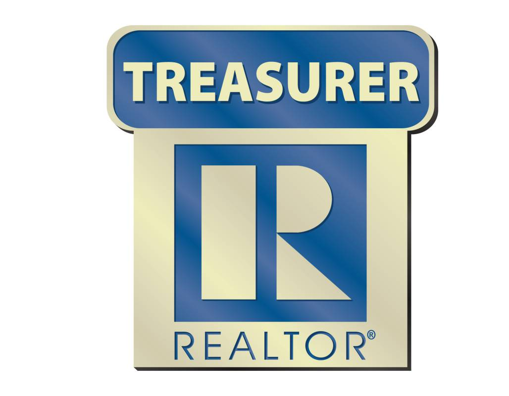Treasurer Pin pins, magnetic, realtors, lapels, stick pins, sticks, locals, states, national, treasurer, boards, executives, elected, position