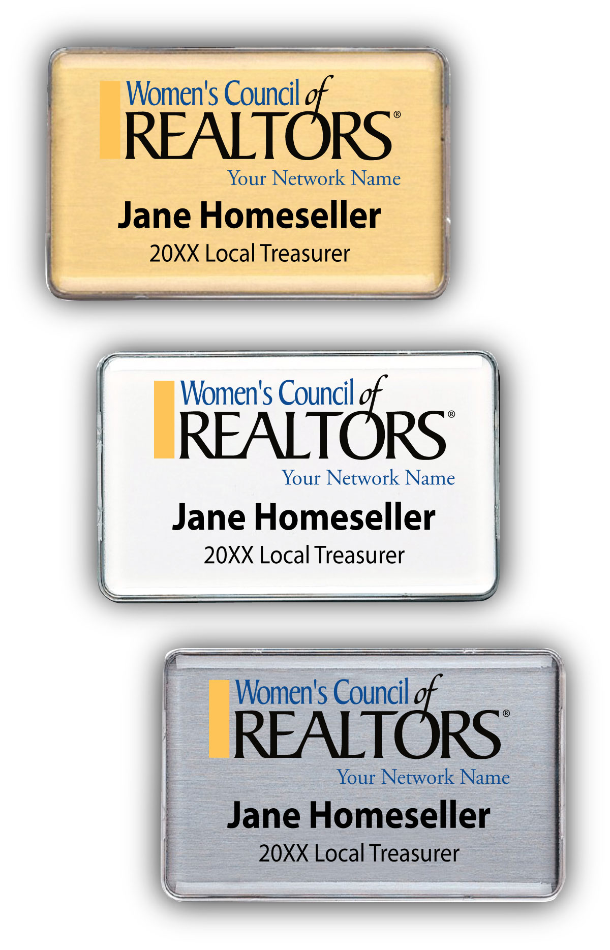 Classic Name Badge - Womens Council of REALTORS®