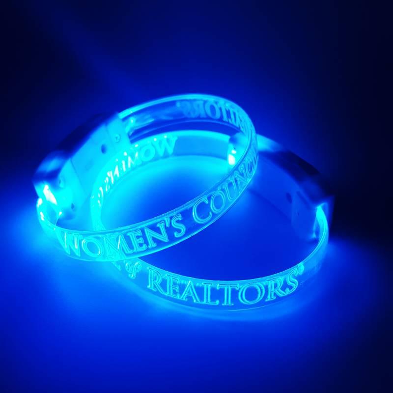 WCR LED Wristband bracelet, glow
