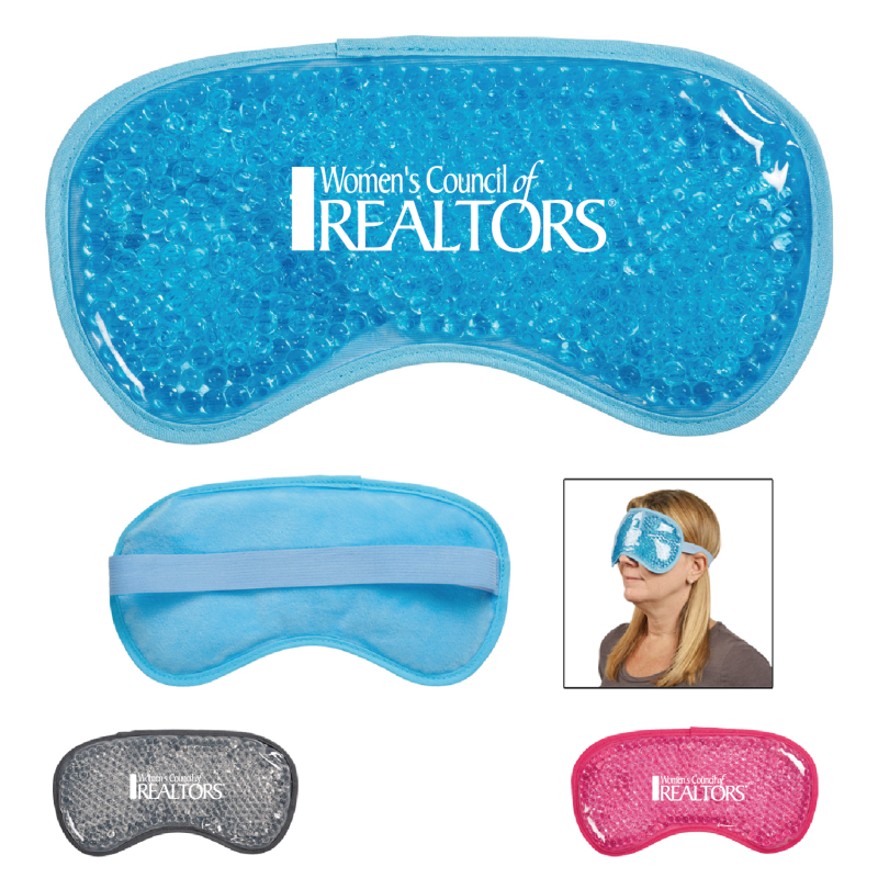 WCR Plush Gel Beads Hot/Cold Eye Mask