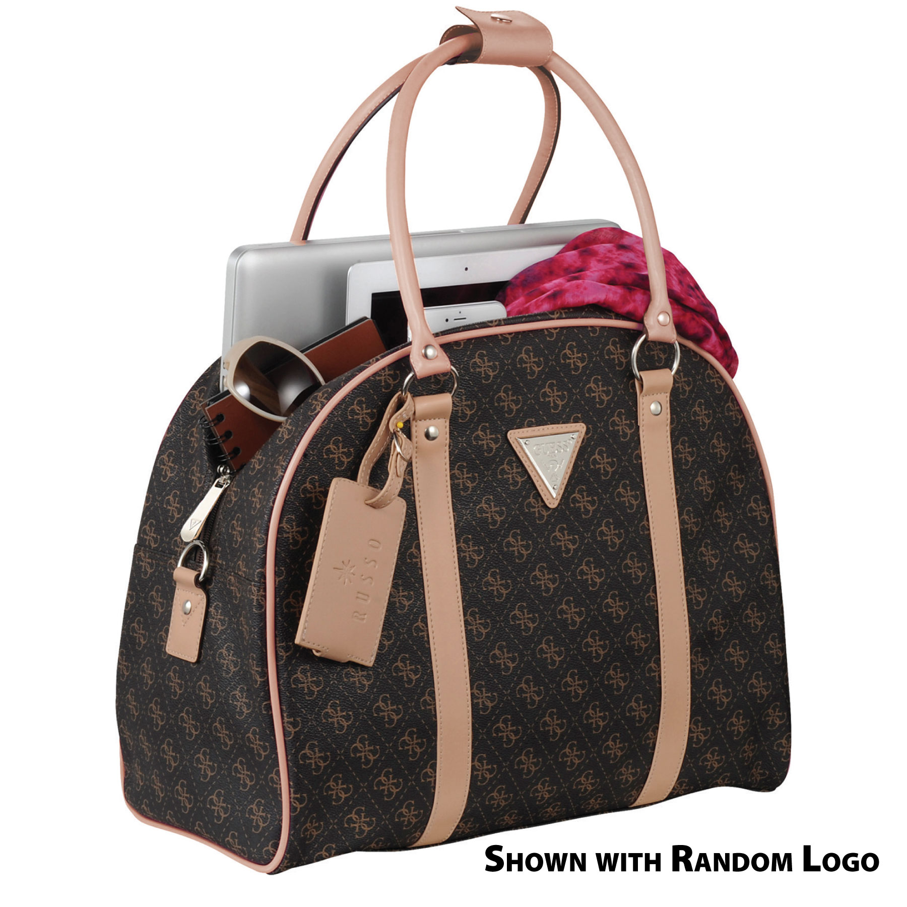 WCR Guess Logo Affair Dome Travel 15 Computer Tote