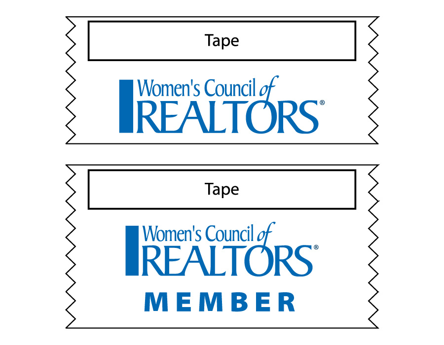 WCR Logo & Member Ribbons - Special Order