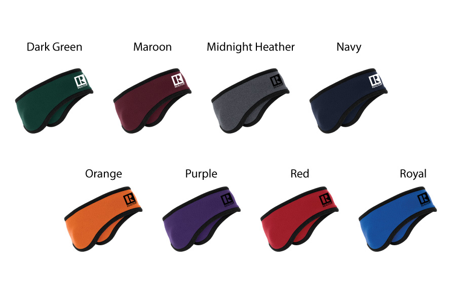 Two-Color Fleece Headband - RCG1230