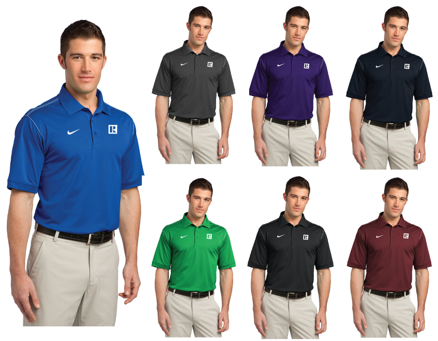 Nike Golf Dri-FIT Sport Swoosh Pique Polo - RCG1300