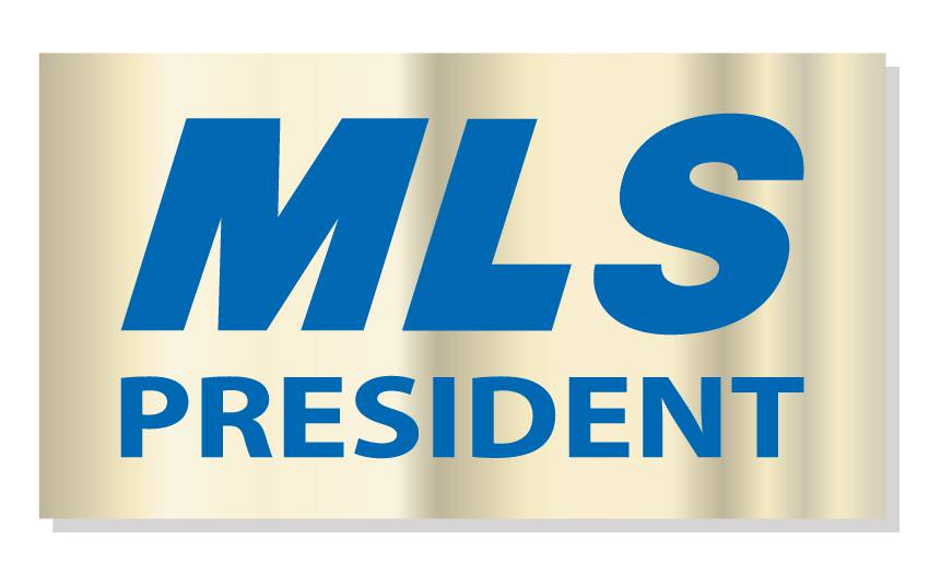 MLS President Pin pins, magnetic, realtors, lapels, MLS, presidents, goldtones, golds, recognition