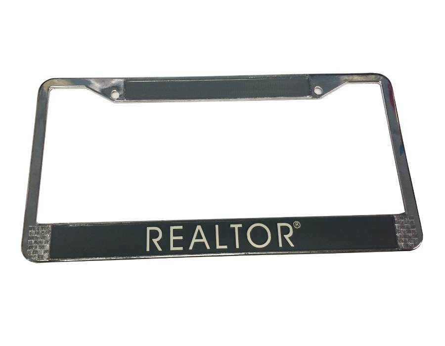 REALTOR® Chrome License Plate Frame (RTS4328)