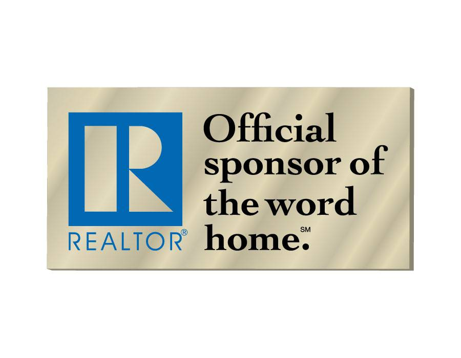 Official Sponsor of the Word Home Pin pins, magnetic, realtors, lapels, sticks, homes, for sale, sales, officials, sponsors, different, gold, goldtones