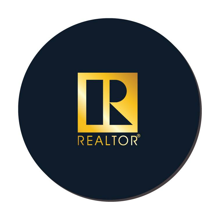 REALTOR Leather Coaster RTS4501