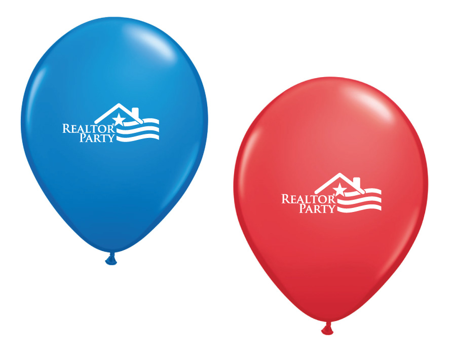REALTOR Party Balloons