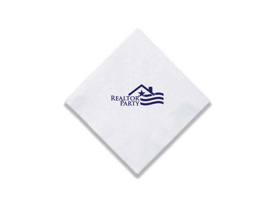 REALTOR Party - Napkins Beverages,napkins,realtors,parties