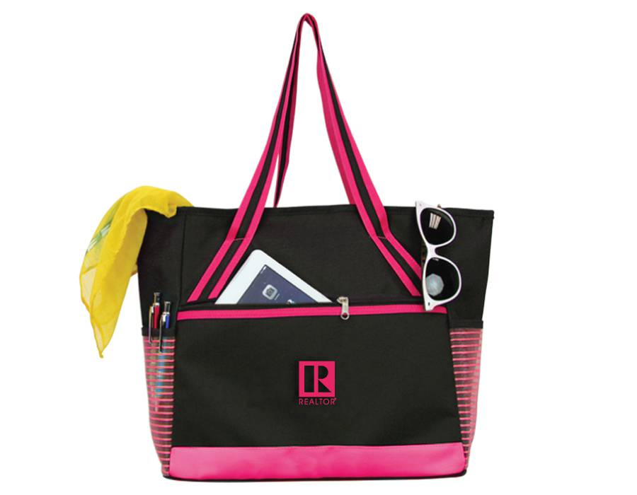 Pink Chic Tablet Mesh Tote