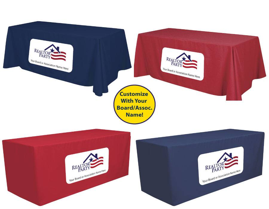 REALTOR Party Table Cover