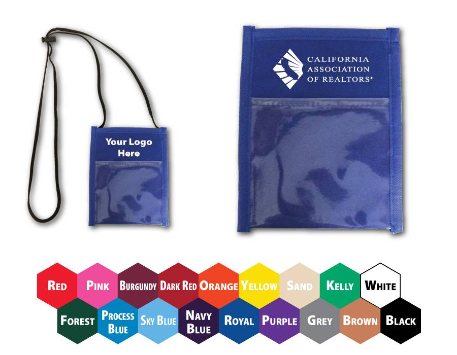 Convention/Event Namebadge Pouch/Wallet - Special Order Item