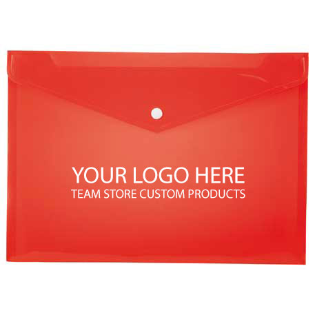 Plastic Document Envelope - Custom - WCR5130