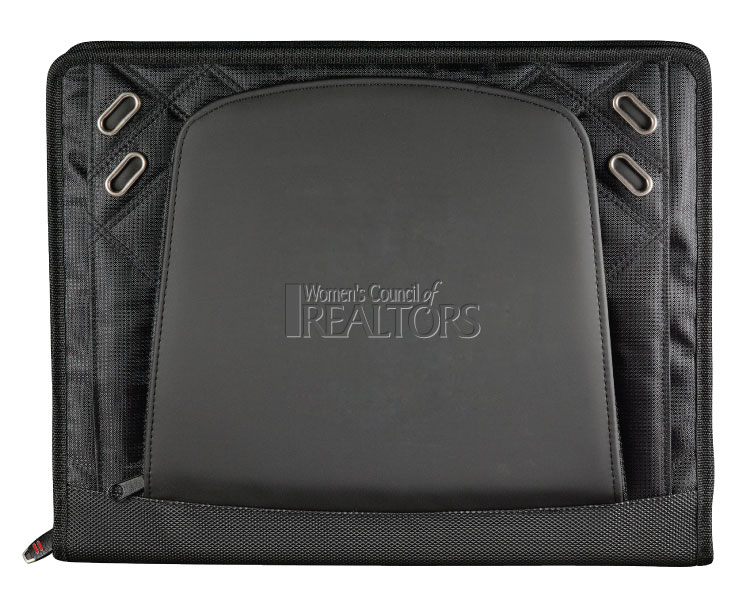 WCR TechTrap Zippered Padfolio