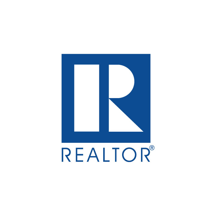 Blue REALTOR - only available on Silver or Gold plate