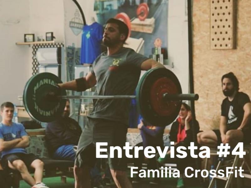 FAMILIA TERRAL CROSSFIT MÁLAGA - ENTREVISTA A Mario
