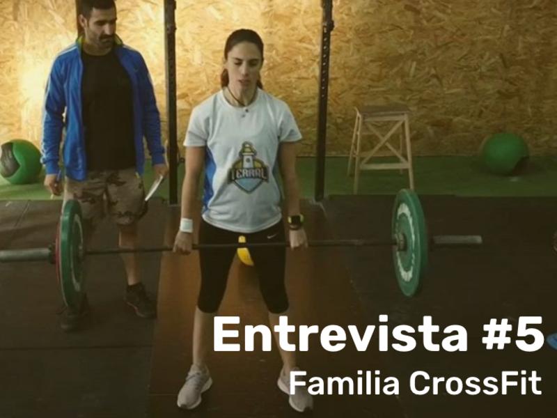 FAMILIA TERRAL CROSSFIT MÁLAGA - ENTREVISTA A Elena