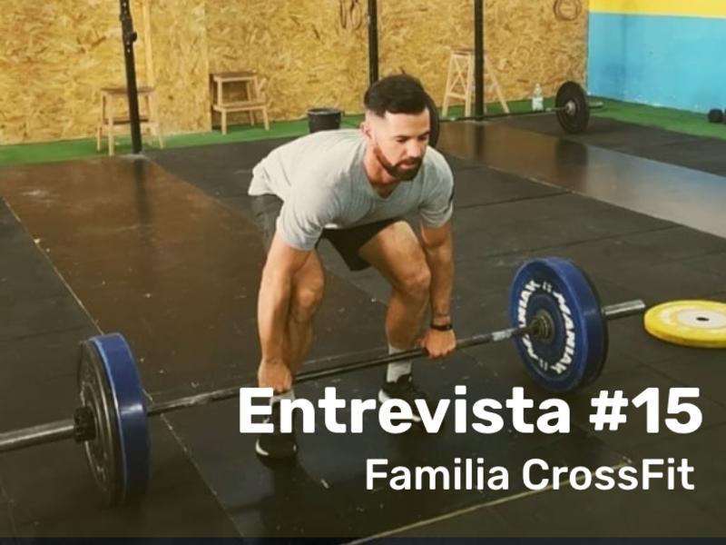 FAMILIA TERRAL CROSSFIT MÁLAGA - ENTREVISTA A Sergio