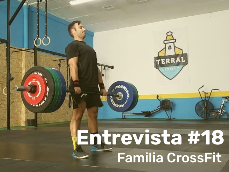 FAMILIA TERRAL CROSSFIT MÁLAGA - ENTREVISTA A Guillermo