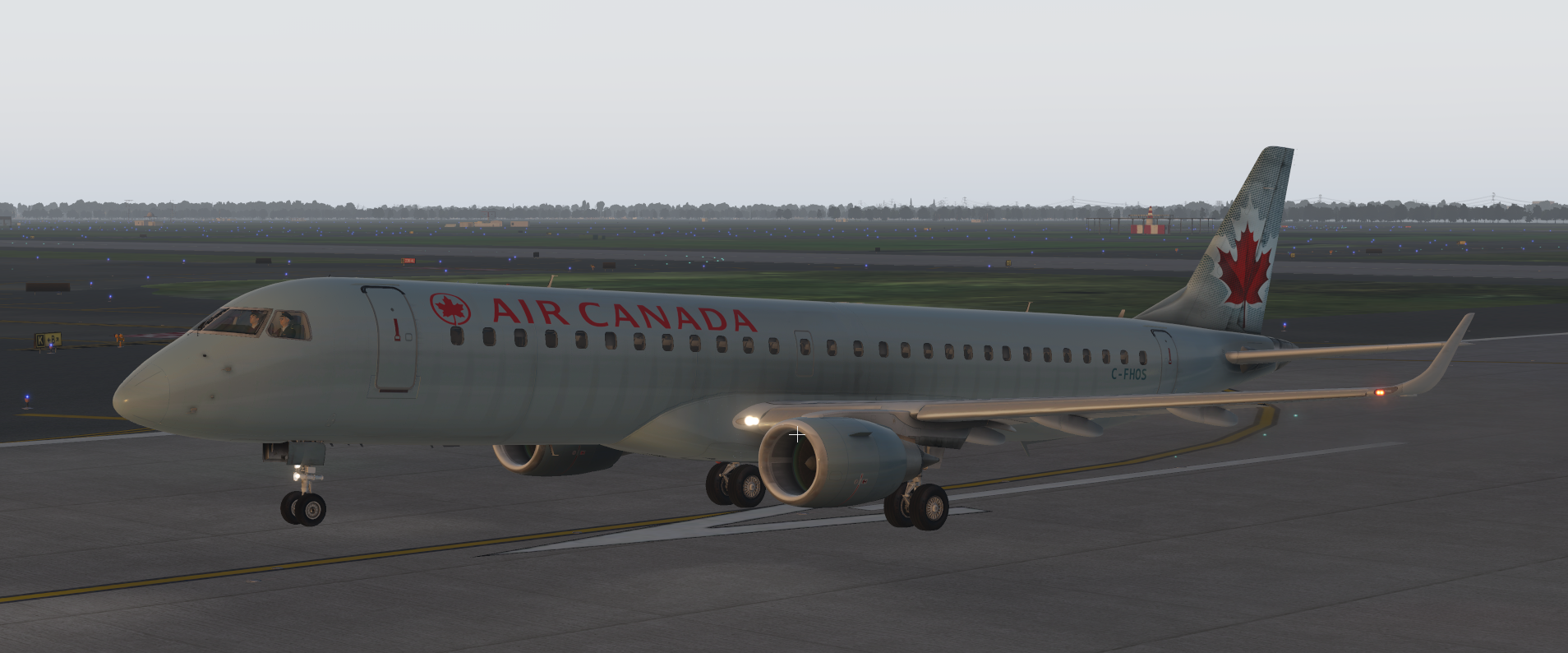 X-Crafts Embraer E-175/195 SimVRLabs Implementation