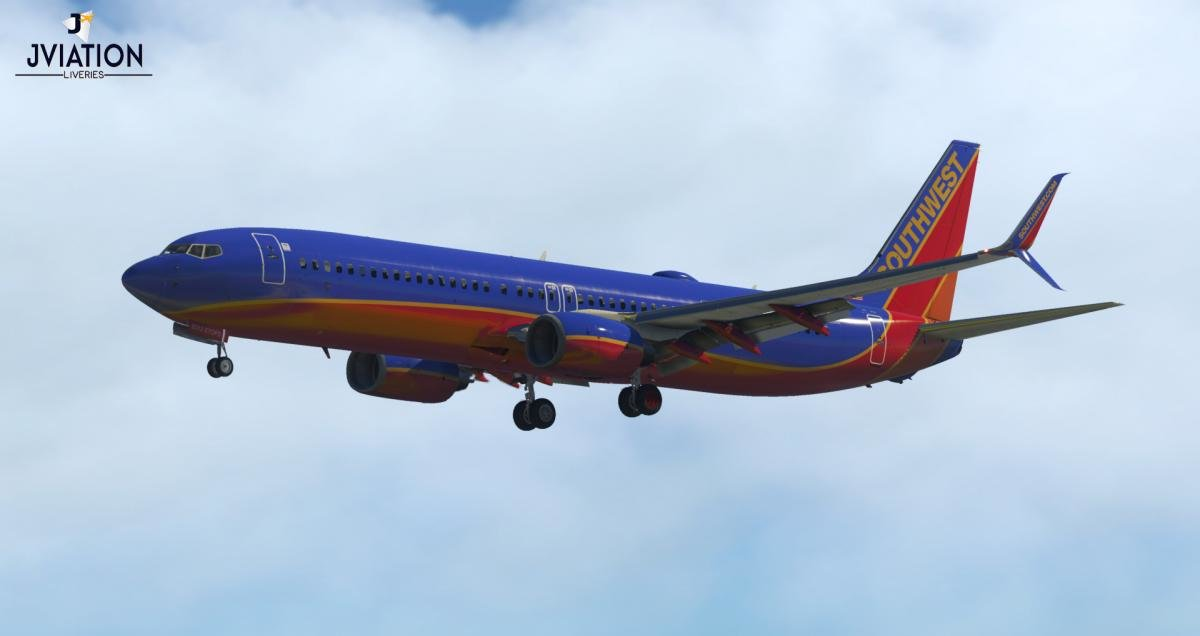 Southwest Airlines Canyon Blue N8312C | Boeing 737 Ultimate