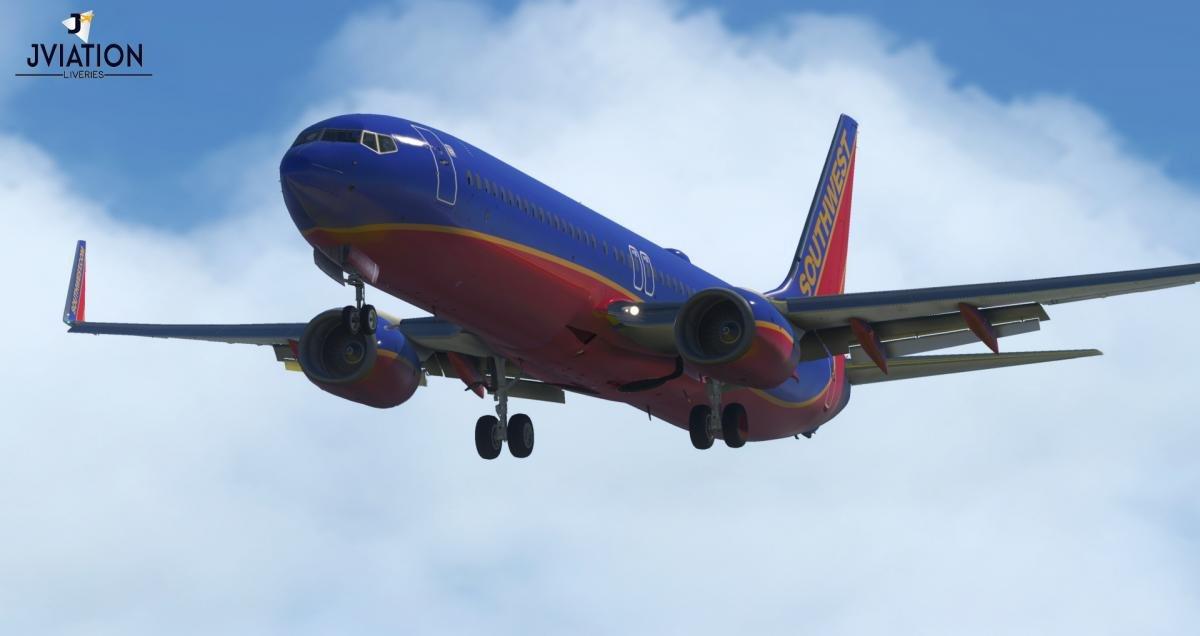 Southwest Airlines Canyon Blue N8312C | Boeing 737 Ultimate (900