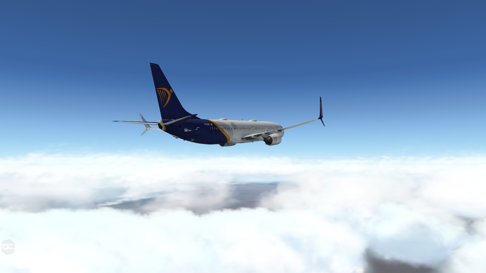 (Fictional) Ryanair 737-900 Livery