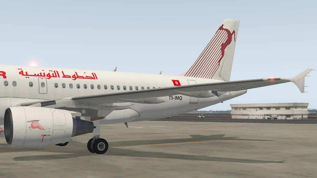 Tunisair - Toliss A319 - Liveries - Threshold