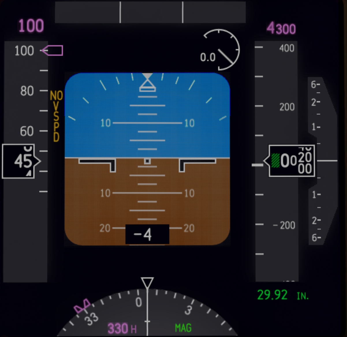 RealPFD for Zibo's 737-800 - Airliner mods - Threshold