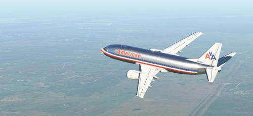 American Airlines - IXEG 737-300 - Airliner Liveries - Threshold