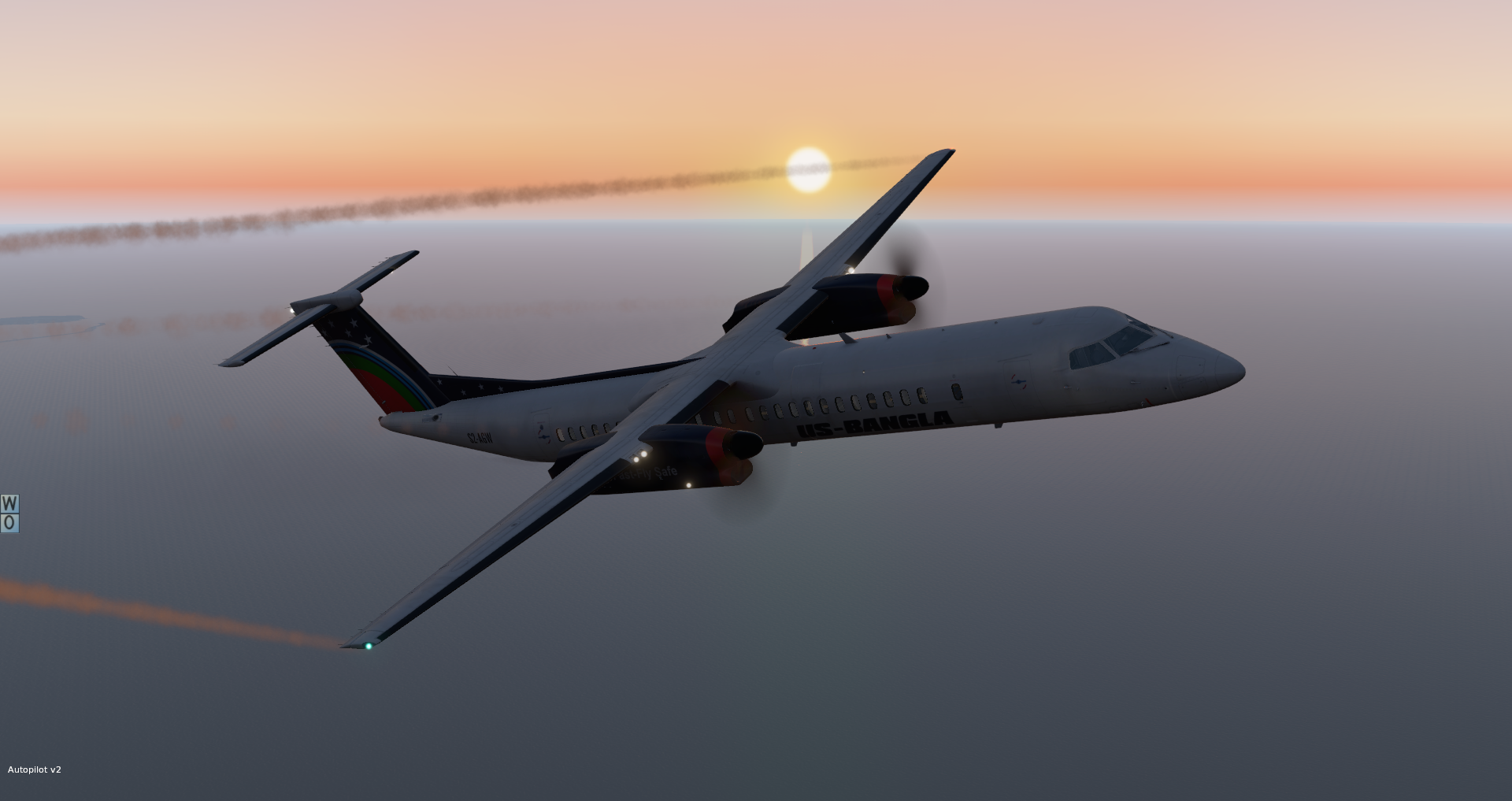 US-Bangla Airlines | FlyJSim Dash 8 Q400 - Turboprop Liveries
