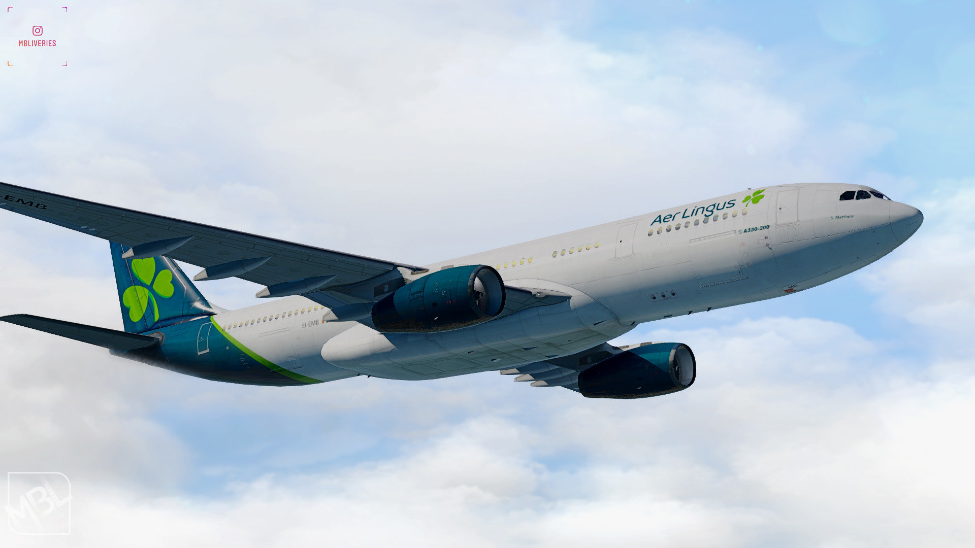 Aer Lingus (2019) - Airbus A330-200 JarDesign - Liveries - Threshold