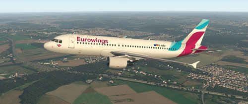 FF A320 – Eurowings Europe (ALL REGISTRATIONS) - Airliner Liveries