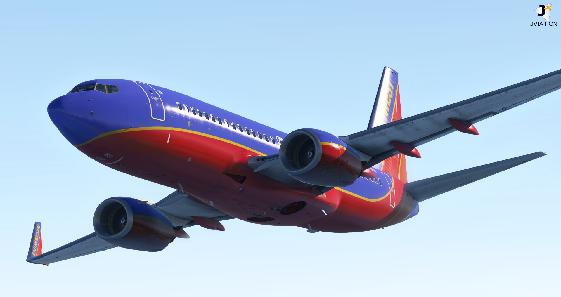 Southwest Airlines 'Canyon Blue' Boeing 737-7H4 Pack
