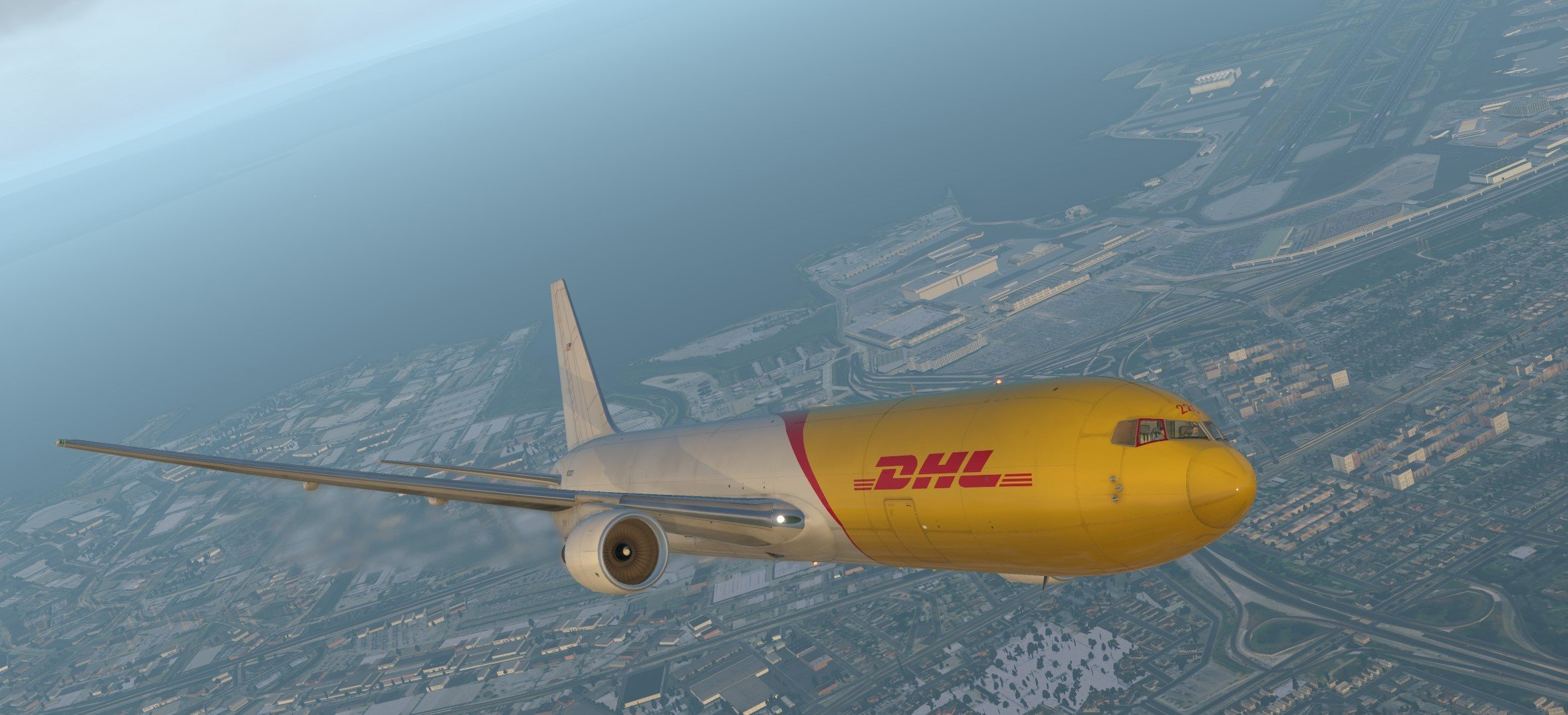 FF767 Freighter DHL (Operated by ABX Air) N220CY - Airliner Liveries