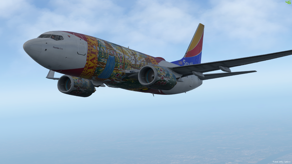 "Southwest 737-700 ""Florida One"" #2"
