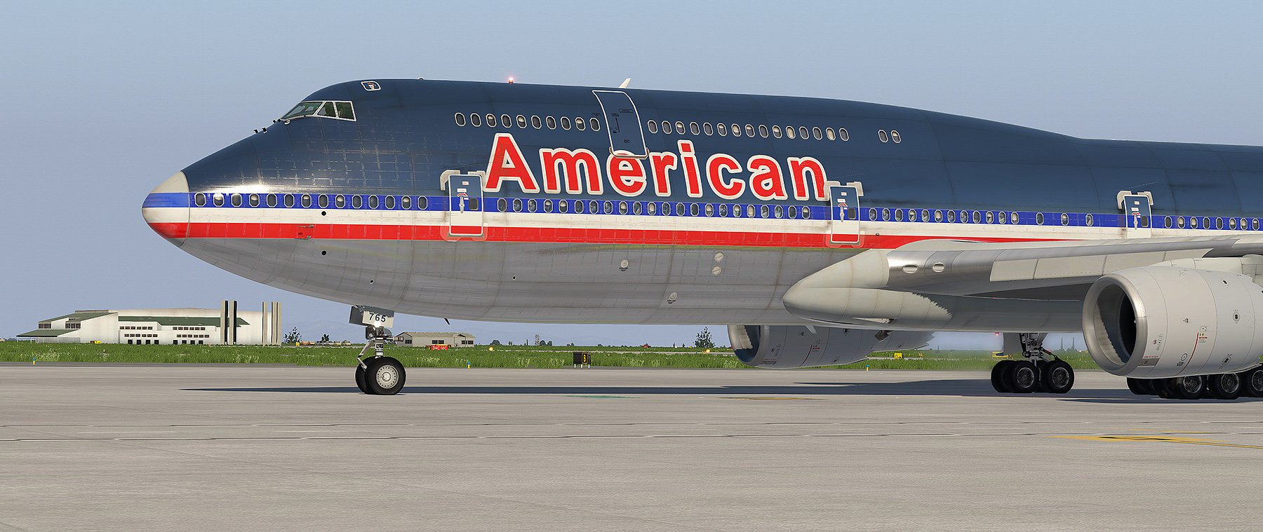 Old American Airlines for SSG 747-8i - Airliner Liveries