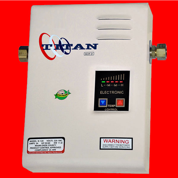 Titan Tankless N 85 Water Heater 2018 Home Model With